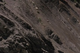 Cretaceous strata