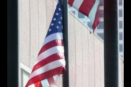 Flag at Half Mast on 911