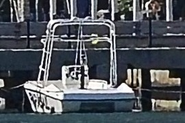 Boat in the marina