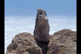 Piedra a más altitud en territorio español.