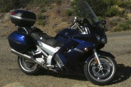 Yamaha FJR1300 2005 at far West Camino Cielo