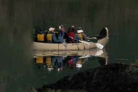 The half-ghost canoe