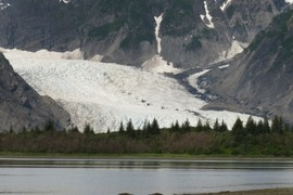 Terminus of Pederson Glacier, view 2