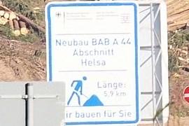 Neubau BAB A44